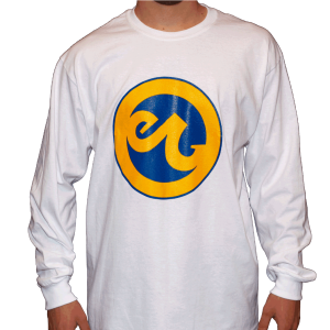 Warrior Gold & Blue Long Sleeve