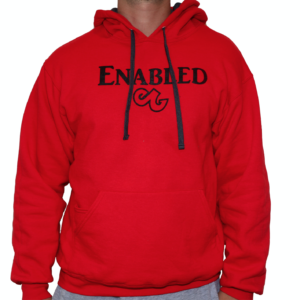 Fiery Red Enabled Sweatshirt