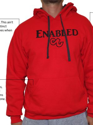 Fiery Red Enabled Sweatshirt
