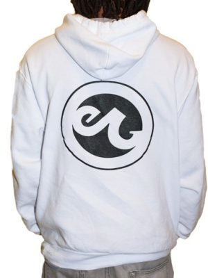 White Enabled Graffiti Sweatshirt